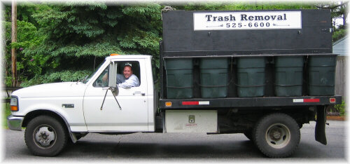 Dial 603-525-6600 for Chris Ingalls of Christopher's Reliable Rubbish Removal - Trash Pick-up and Removal - and mention you saw this website!